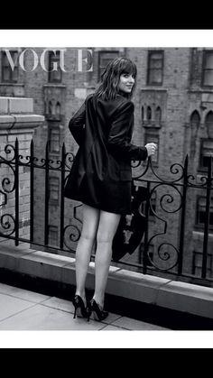 Pic of Dakota from inside UK Vogue Feb 2016 issue.