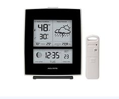 AcuRite Wireless Digital Weather Station Forecaster with Humidity 03001W1 (Black) >>> To view further for this item, visit the image link. (This is an affiliate link) #WeatherInstruments