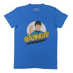 Live Long & Bazinga Tee Shirt