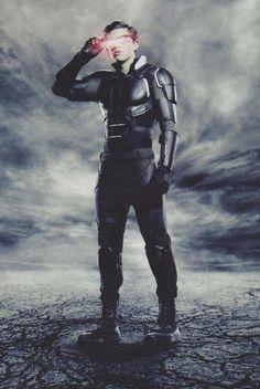 X-Men: Apocalypse promo images featuring Jean Grey, Cyclops, Nightcrawler, Storm, Psylocke and Angel Man Movies, Comic Movies, Marvel Movies, Watch Movies, Cyclops X Men, Marvel Dc, Marvel Comic Universe, Psylocke, Hugh Jackman