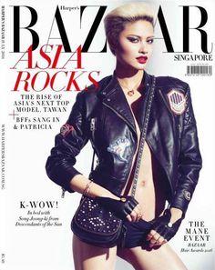 Tawan for Harper& Bazaar Singapore July 2016 Asia's Next Top Model, Dior, Mane Event, Vogue, Harpers Bazaar, Hottest Models, Covergirl, Well Dressed, Superstar