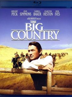The Big Country Staring: Gregory Peck, Jean Simmons, Carroll Baker, Charlton Heston, Burl Ives Director: William Wyler Gregory Peck, Old Movies, Vintage Movies, Great Movies, Big Country Movie, Country Music, The Big Country, Old Western Movies, Western Film