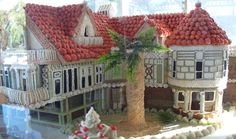 Gingerbread along the pier