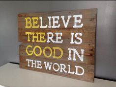 Be the good sign by PocketfulofSawdust on Etsy