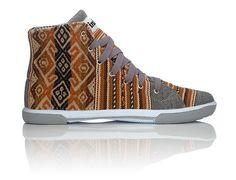 London Sky INKKAS Phuyupata Shoes Tribal & Aztec Shoes