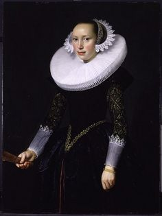 Portrait of a Woman, Nicolaes Eliasz. Pickenoy, 1610-40