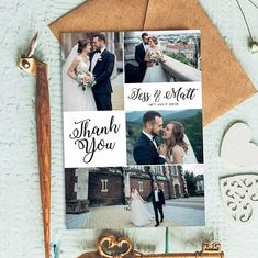 100 Thank You Cards Multipack Custom Bulk Large Set Purchase Personalized Pack of 10 Wedding Thank You Cards With Photo Rustic Thank You Card Wording, Print Thank You Cards, Thank You Card Design, Free Thank You Cards, Photo Thank You Cards, Thank You Messages, Thank You Card Template, Wedding Thank You Cards, Photo Cards