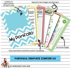 Child Portfolio Templates Starter Kit