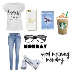 """Monday"" by sparkle-septiceye ❤ liked on Polyvore featuring Ally Fashion, Cheap Monday, BaubleBar, ZeroUV, Converse and Monday"