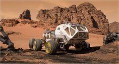 Seul sur Mars : Photo
