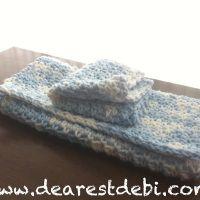 Crochet Dishcloth & Towel Gift Set - DearestDebi