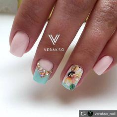 725 отметок «Нравится», 3 комментариев — ИДЕИ И УРОКИ ПО МАНИКЮРУ (@fashion_nail_russia) в Instagram: «@verakso_nail»