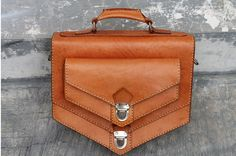 Handmade natural traditional veg tanned leather by klemensandco, $60.00