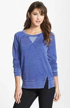 Marc New York by Andrew Marc Twisted Split Seam Pullover available at #Nordstrom