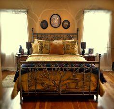 Bedroom in Midwinter.