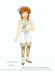 paper dolls for Samantha