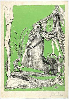 Salvador Dali Dreams of Pantagruel