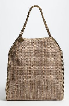 Stella McCartney 'Falabella - Large' Metallic Bouclé Tote available at #Nordstrom: here you go, SAM!
