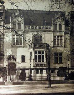Bellevuestraße 13.. erbaut 1901-02 von Cremer & Wolffenstein.. um1906