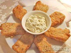 Рыба в панировке с соусом тартар рецепт с фото