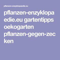 pflanzen-enzyklopaedie.eu gartentipps oekogarten pflanzen-gegen-zecken