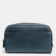 Carry-On Dopp Kit in Crossgrain Leather STYLE NO. 93515