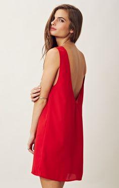 Blu Moon Trapeze Dress