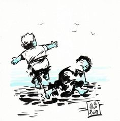 Encres : Capoeira - 84 [ #capoeira #ink #painting ]