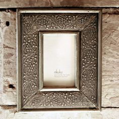 Recycled Metal Picture Frame — WellaVerde