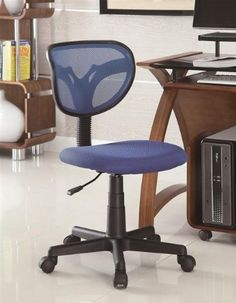 Office Chairs Mesh Adjustable Height Task Chair by Coaster at Dunk & Bright Furniture Cheap Office Chairs, Home Office Chairs, Home Office Furniture, Desk Office, Desk Chairs, Black Office Chair, Mesh Office Chair, Local Furniture Stores, Furniture Online