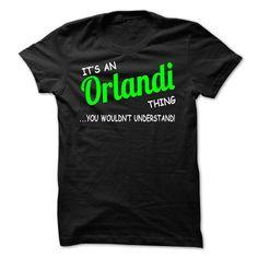I Love Orlandi thing understand ST420 Shirts & Tees