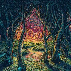 Portals (Limited Edition of 60) – James R. Eads Illustration