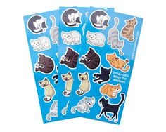 Kitty Cat Stickers - DoodleCats Shop