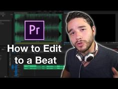 How to Edit to a Beat in Premiere Pro - This simple tutorial will teach you how to use markers to edit to a beat of a song in Adobe Premiere Pro and CC. Photography And Videography, Video Photography, Video Editing, Photo Editing, Tv Direct, Film Tips, Motion Video, Adobe Premiere Pro, Le Web