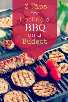 Hosting a party doesn't mean you need to break the bank. Consider trying these creative ideas to cut down on costs for your summer barbecue! #savingmoney
