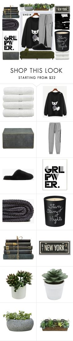 """""""Good Day in Home"""" by busrashin ❤ liked on Polyvore featuring Polaroid, NIKE, J.Crew, Stupell, Zara Home, Bella Freud, PBteen, M&Co, Campania International and SONOMA Goods for Life"""