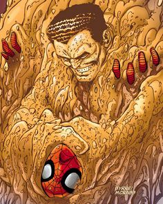 sandman spiderman comic - Google Search