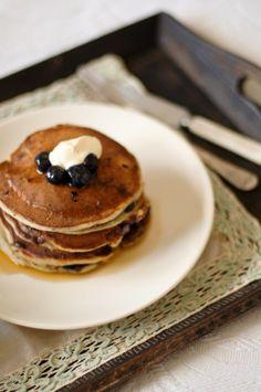 ¡Días! | Recipes and cooking blog : Trotski & Ash » Recipe » blueberry ricotta pancakes