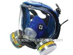 One cartridges full face gas mask 1 anti-fog and scrubbed lens with higher transparency 2 anti all kinds of gas with filters Chemical Mask, K Dick, Silicone Gel, Full Face, Survival Skills, Headset, Headphones, Lens, Shtf