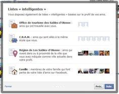 Les listes d'amis sur Facebook: outil de gestion de votre e-reputation