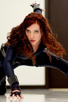 Scarlett Johansson in Iron Man 2