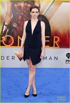 Danielle Panabaker at the premiere of Wonder Woman