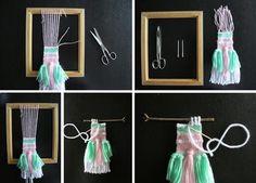 tejiendo en un telar diy10
