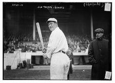 1913 - [Jim Thorpe, New York NL, at Polo Grounds, NY (baseball)] (LOC) by The Library of Congress, via Flickr