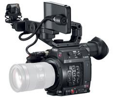 Canon EOS C200 EF-mount Cinema Camera with grip, viewfinder and monitor PRE ORDER