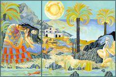 Christina Balit illustration for  Atlantis - The Legend of a Lost City