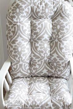 Items similar to Custom Cushions- Glider Cushions- Rocker Cushions- Window Seat Cushions- Bench Cushions- Chair Cushions on Etsy Glider Cushions, Window Seat Cushions, Bench Cushions, Bed Pillows, Baby Crib Bedding, Duvet Bedding, Bedding Sets, Rocking Chair Cushions, Yellow Bedding
