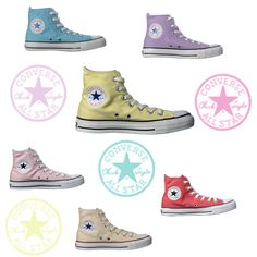 Converse chuck taylors - pastels. With jeans?!