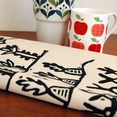 Tea Towel - Allotment  £7.50