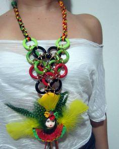 *•♫♪*El Baul de mis creaciones*•♫♪* – manosalaobratv Diy Jewelry, Diana, Ear, Crochet, Crafts, Style, Fashion, Costumes, Folklore